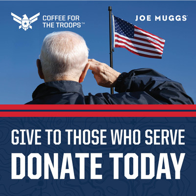The Coffee for the Troops event runs from September 25 through October 23, 2021. During this time, Books-A-Million customers can donate a bag of Joe Muggs Coffee when they check out at the store or café and personalize their donations with messages of gratitude.