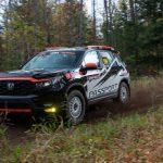 El Honda Passport 2022 está listo para la competencia del Stage Rally
