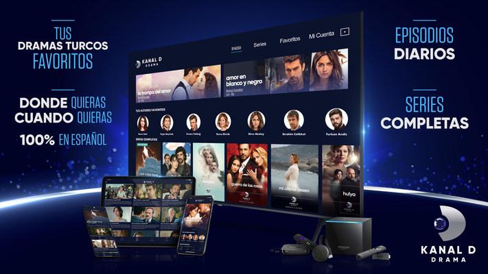 Kanal D Drama app - tus dramas turcos favoritos 100% en español, cuando quieras, donde quieras