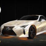 Lexus presenta los vehículos «Eternals» de Marvel Studios